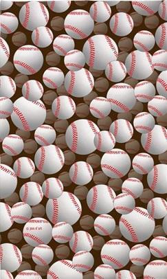 baseball decorative area rug