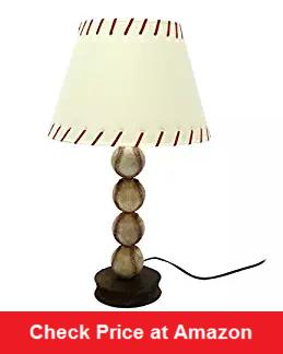 Stacked Baseball Lamp